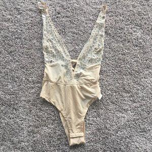 Other - NWOT Blinged our bodysuit/lingerie
